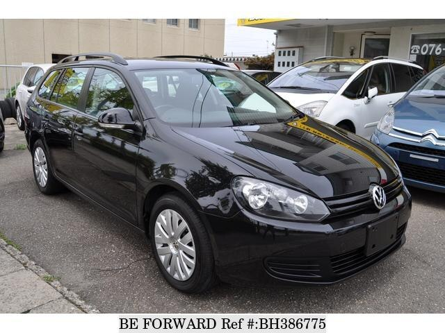 Used 2010 VOLKSWAGEN GOLF VARIANT BH386775 for Sale