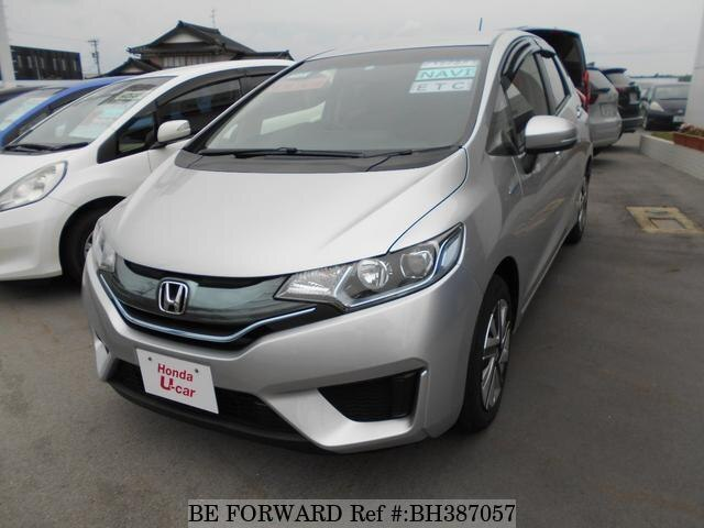 Used 2014 HONDA FIT HYBRID BH387057 for Sale