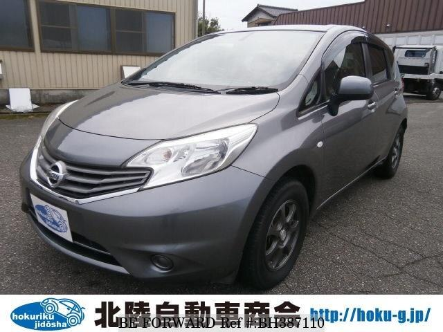 Used 2013 NISSAN NOTE BH387110 for Sale