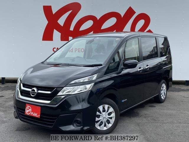 Used 2017 NISSAN SERENA BH387297 for Sale