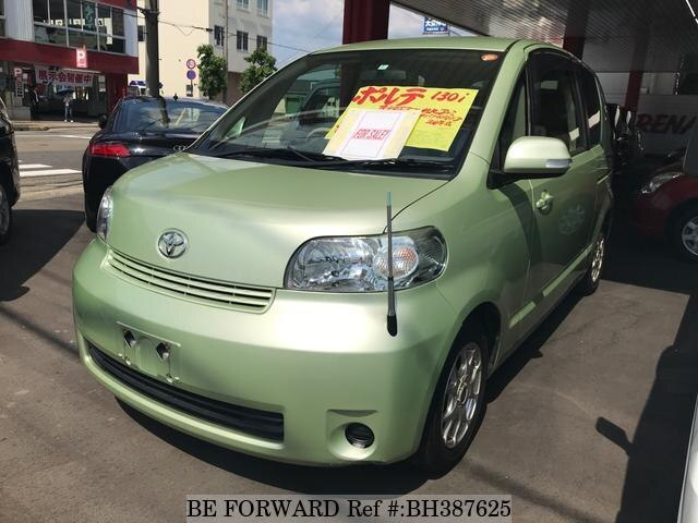 Used 2008 TOYOTA PORTE BH387625 for Sale