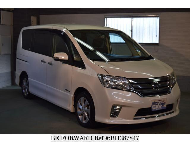 Used 2012 NISSAN SERENA BH387847 for Sale