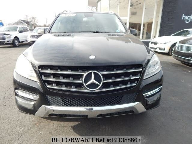 Used 2013 MERCEDES-BENZ M-CLASS BH388867 for Sale