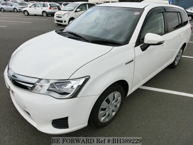 Used 2014 TOYOTA COROLLA FIELDER BH389229 for Sale