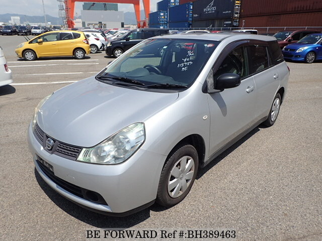 Used 2010 NISSAN WINGROAD BH389463 for Sale