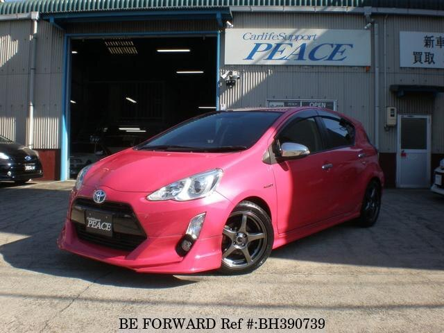 Used 2015 TOYOTA AQUA BH390739 for Sale