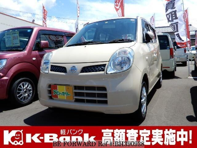 Used 2010 NISSAN MOCO BH390938 for Sale