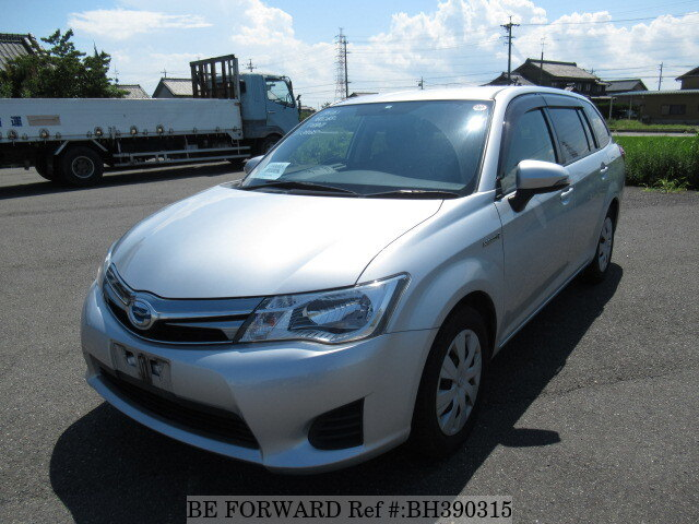 Used 2014 TOYOTA COROLLA FIELDER BH390315 for Sale