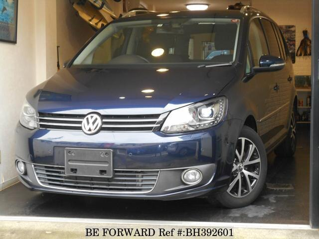 Used 2013 VOLKSWAGEN GOLF TOURAN BH392601 for Sale