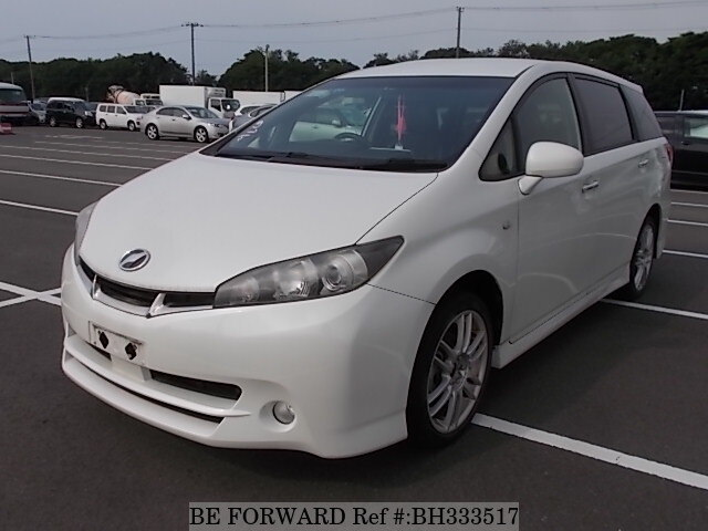 Used 2012 TOYOTA WISH BH333517 for Sale