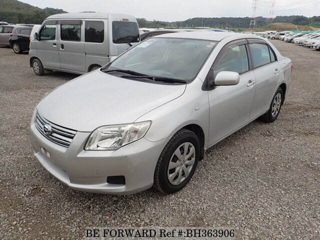 Used 2007 TOYOTA COROLLA AXIO BH363906 for Sale
