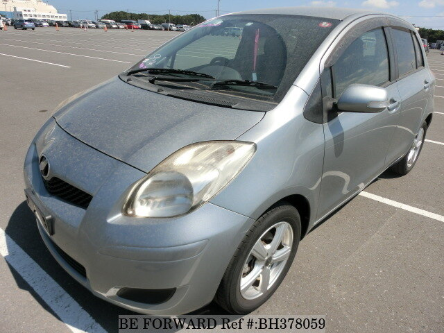 Used 2009 TOYOTA VITZ BH378059 for Sale