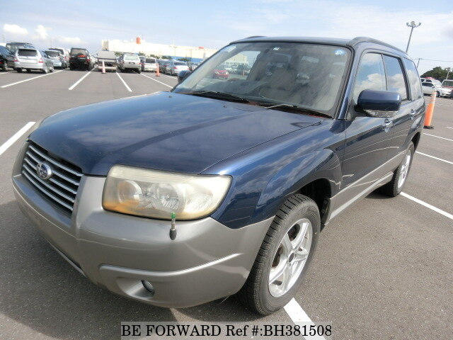 Used 2005 SUBARU FORESTER BH381508 for Sale