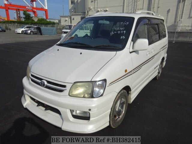 Used 2001 TOYOTA TOWNACE NOAH BH382415 for Sale