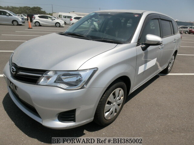 Used 2015 TOYOTA COROLLA FIELDER BH385002 for Sale
