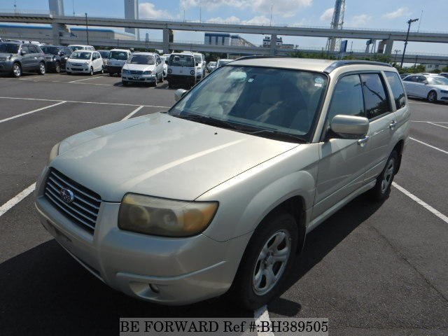 Used 2005 SUBARU FORESTER BH389505 for Sale