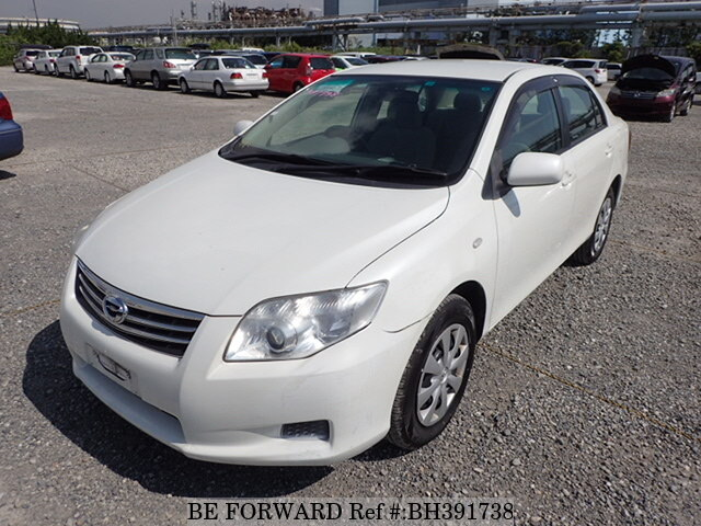 Used 2010 TOYOTA COROLLA AXIO BH391738 for Sale