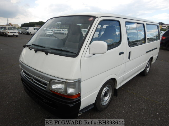Used 1991 TOYOTA HIACE VAN BH393644 for Sale