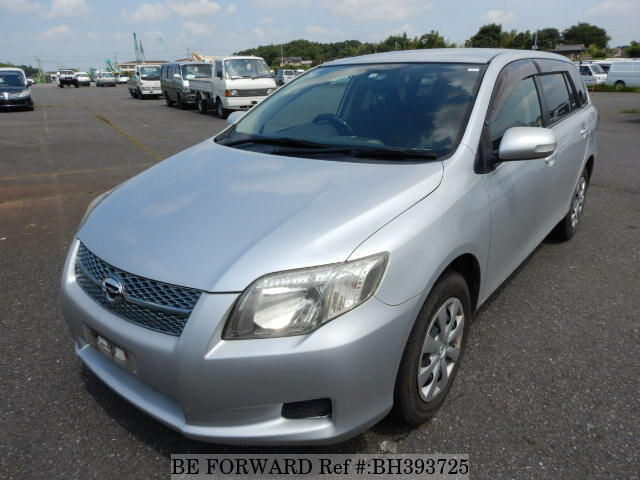 Used 2006 TOYOTA COROLLA FIELDER BH393725 for Sale