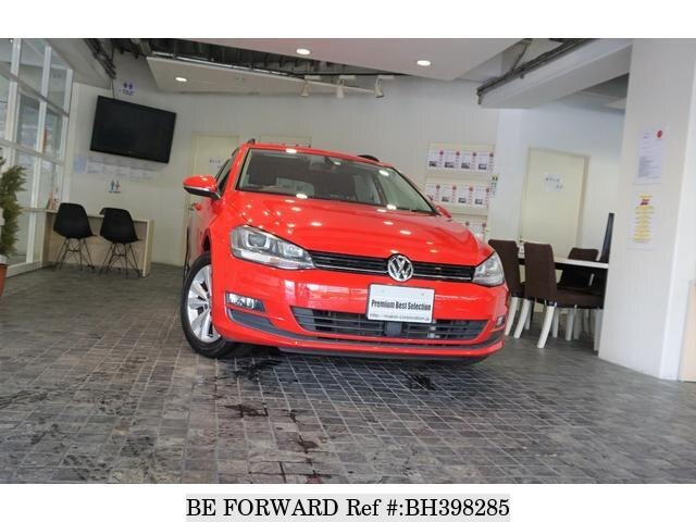 Used 2014 VOLKSWAGEN GOLF VARIANT BH398285 for Sale