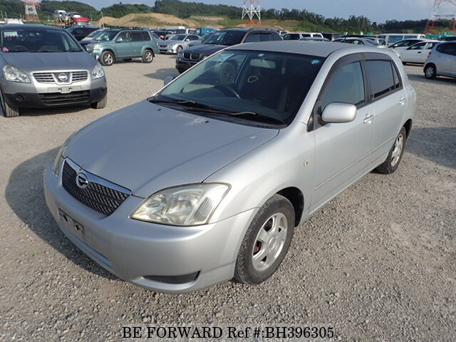 Used 2003 TOYOTA COROLLA RUNX BH396305 for Sale