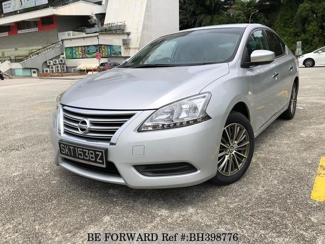 Used 2015 Nissan Sylphy Dvd Rev Camra Keyless 16cvt For Sale Bh398776 Be Forward