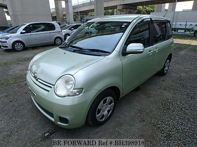 Used 2008 TOYOTA SIENTA BH398918 for Sale