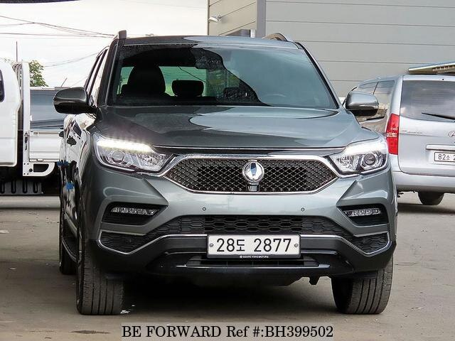 Used 2018 SSANGYONG REXTON BH399502 for Sale