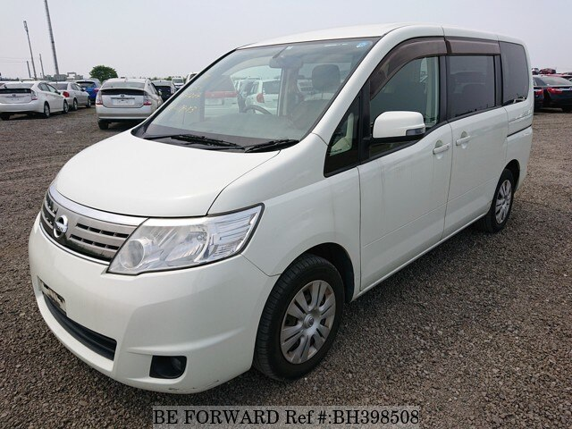 Used 2009 NISSAN SERENA BH398508 for Sale