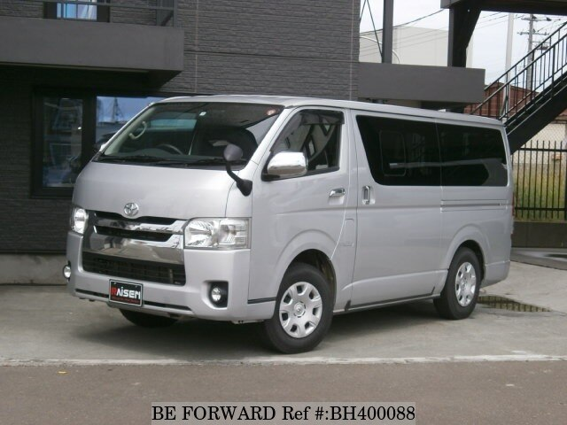 Used 2015 TOYOTA HIACE VAN BH400088 for Sale