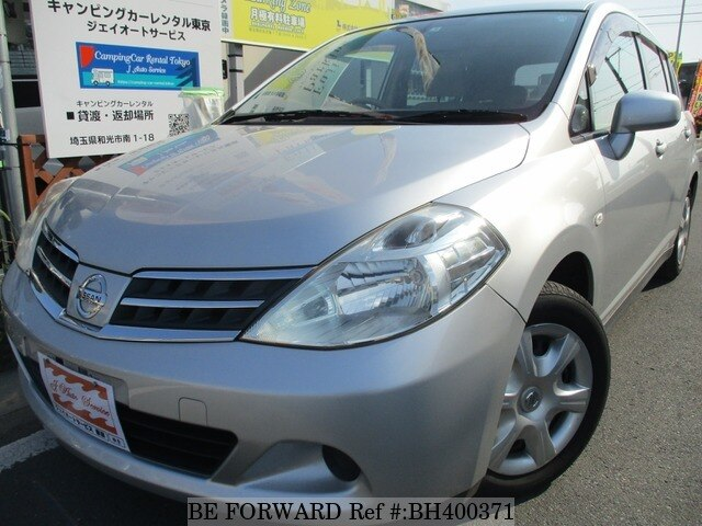 Used 2009 NISSAN TIIDA BH400371 for Sale