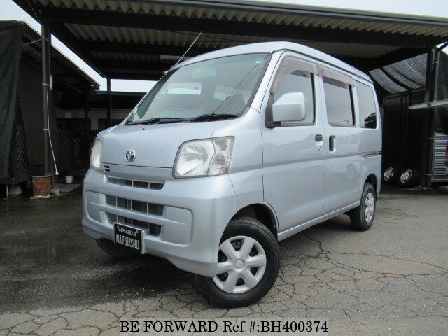 Used 2012 TOYOTA PIXIS VAN BH400374 for Sale