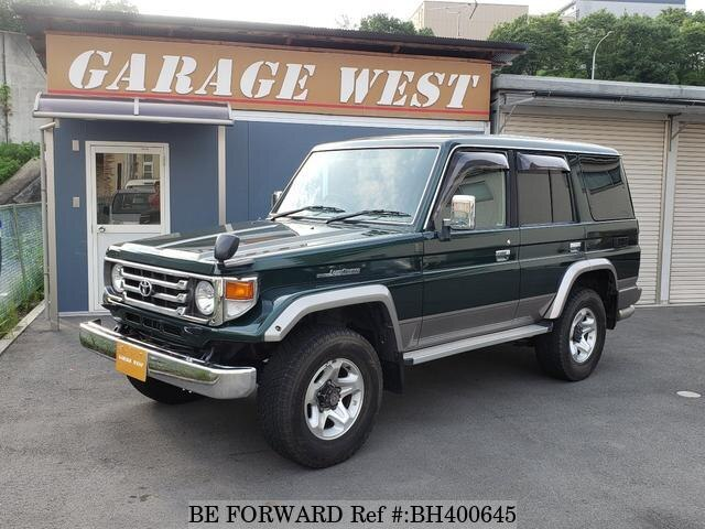 Used 2002 TOYOTA LAND CRUISER BH400645 for Sale