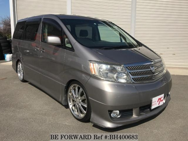 Used 2004 TOYOTA ALPHARD BH400683 for Sale