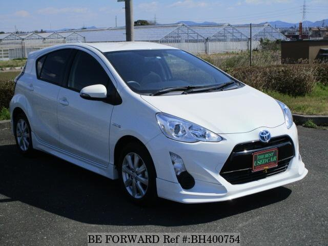Used 2015 TOYOTA AQUA BH400754 for Sale