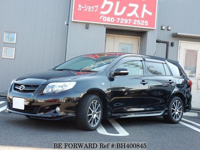 Used 2010 TOYOTA COROLLA FIELDER BH400845 for Sale