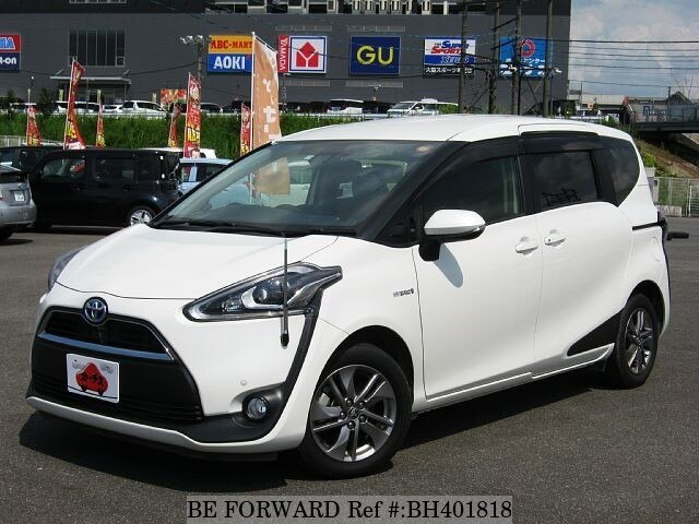 Used 2017 TOYOTA SIENTA BH401818 for Sale
