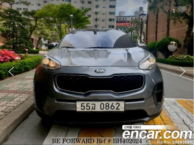 Used 2016 KIA SPORTAGE BH402024 for Sale