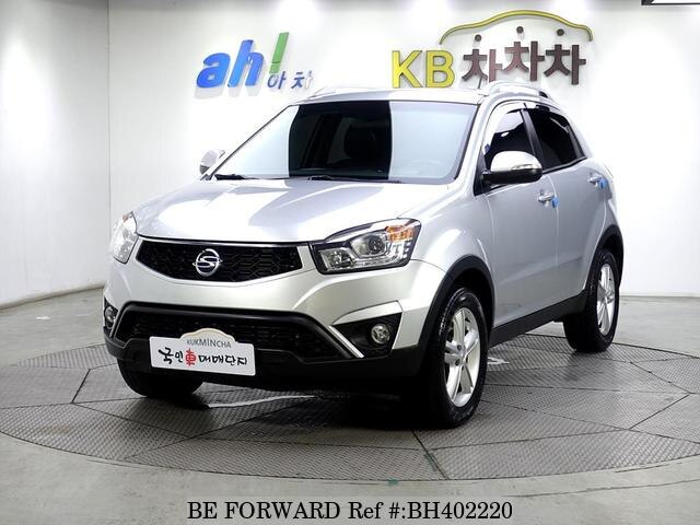 Used 2013 SSANGYONG KORANDO BH402220 for Sale