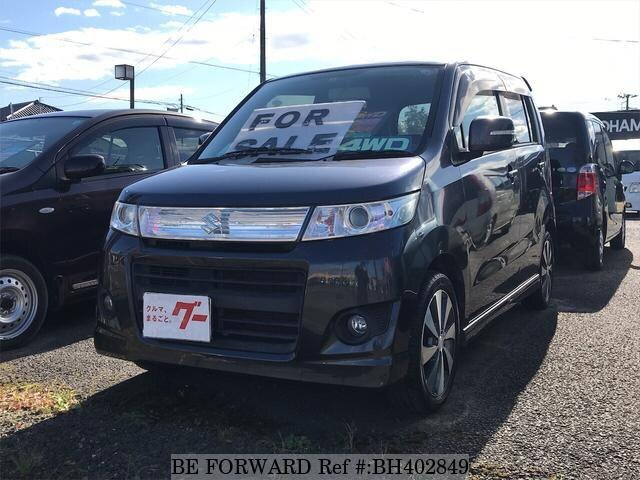 Used 2008 SUZUKI WAGON R BH402849 for Sale