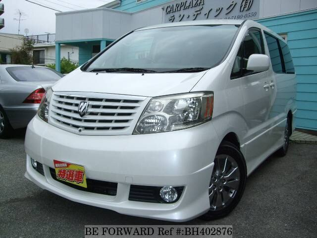 Used 2005 TOYOTA ALPHARD BH402876 for Sale