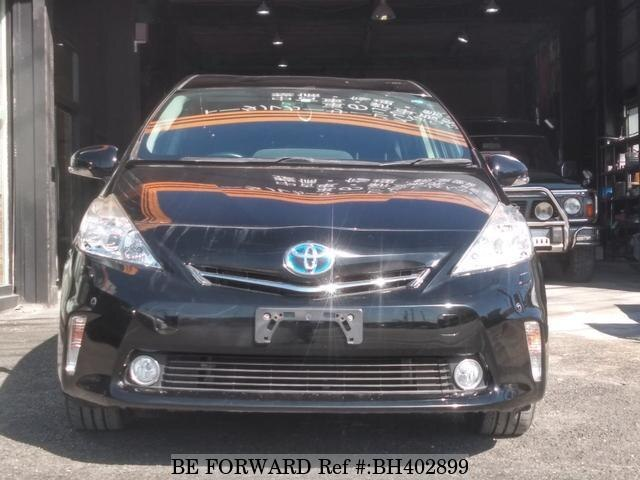 Used 2013 TOYOTA PRIUS ALPHA BH402899 for Sale