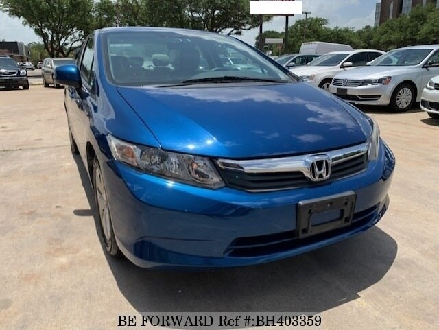 Used 2012 HONDA CIVIC BH403359 for Sale
