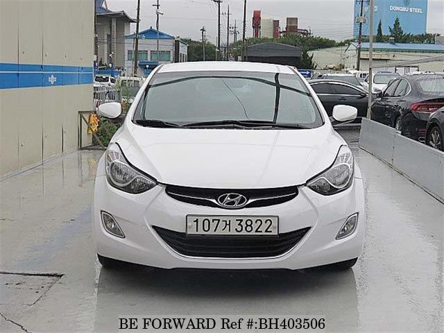 Used 2013 HYUNDAI AVANTE (ELANTRA) BH403506 for Sale