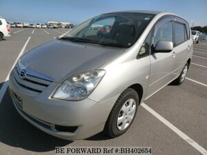 Used 2005 TOYOTA COROLLA SPACIO BH402654 for Sale