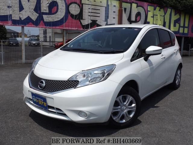 Used 2015 NISSAN NOTE BH403669 for Sale