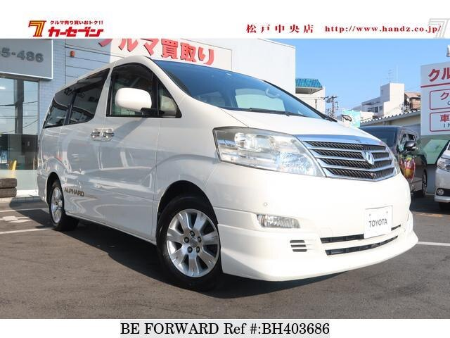 Used 2007 TOYOTA ALPHARD BH403686 for Sale