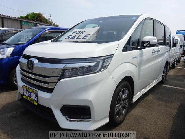 Used 2018 HONDA STEP WGN BH403911 for Sale