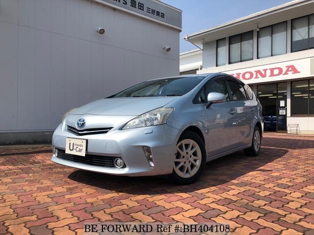 Used 2011 TOYOTA PRIUS ALPHA BH404108 for Sale