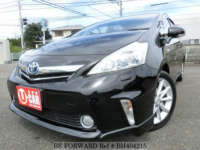 Used 2012 TOYOTA PRIUS ALPHA BH404215 for Sale